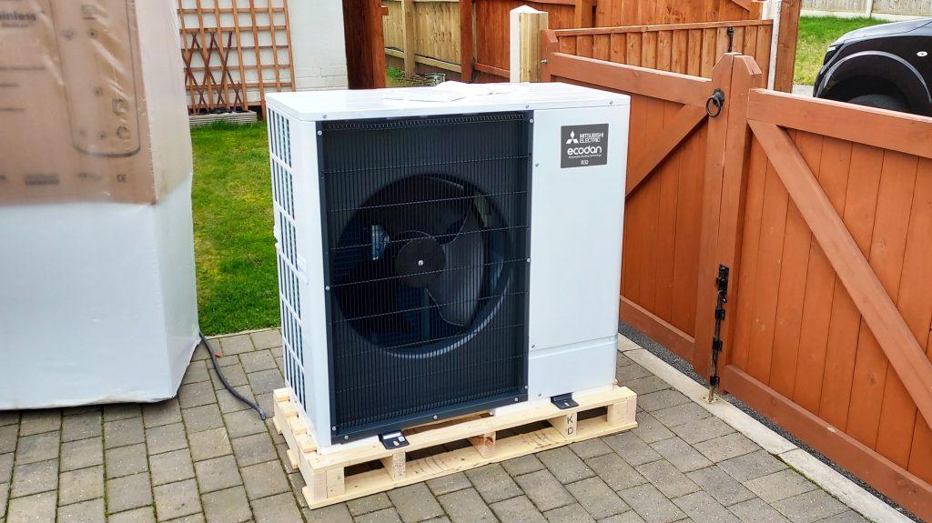 Installing an Air Source Heat Pump