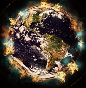 Methane and the earth